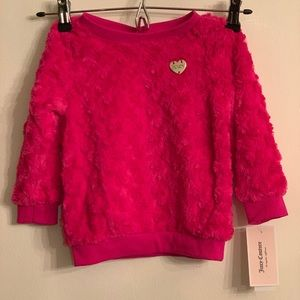 Juicy Couture Faux Fur Kids Sweater